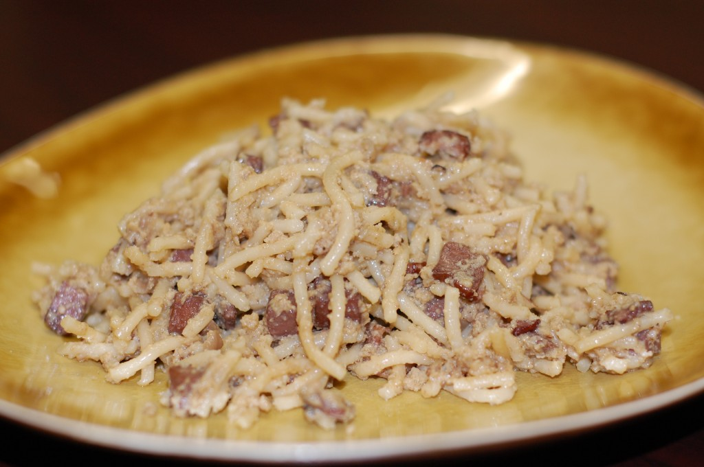 Pastor Ryan's Pasta Carbonara Recipe — Dishmaps