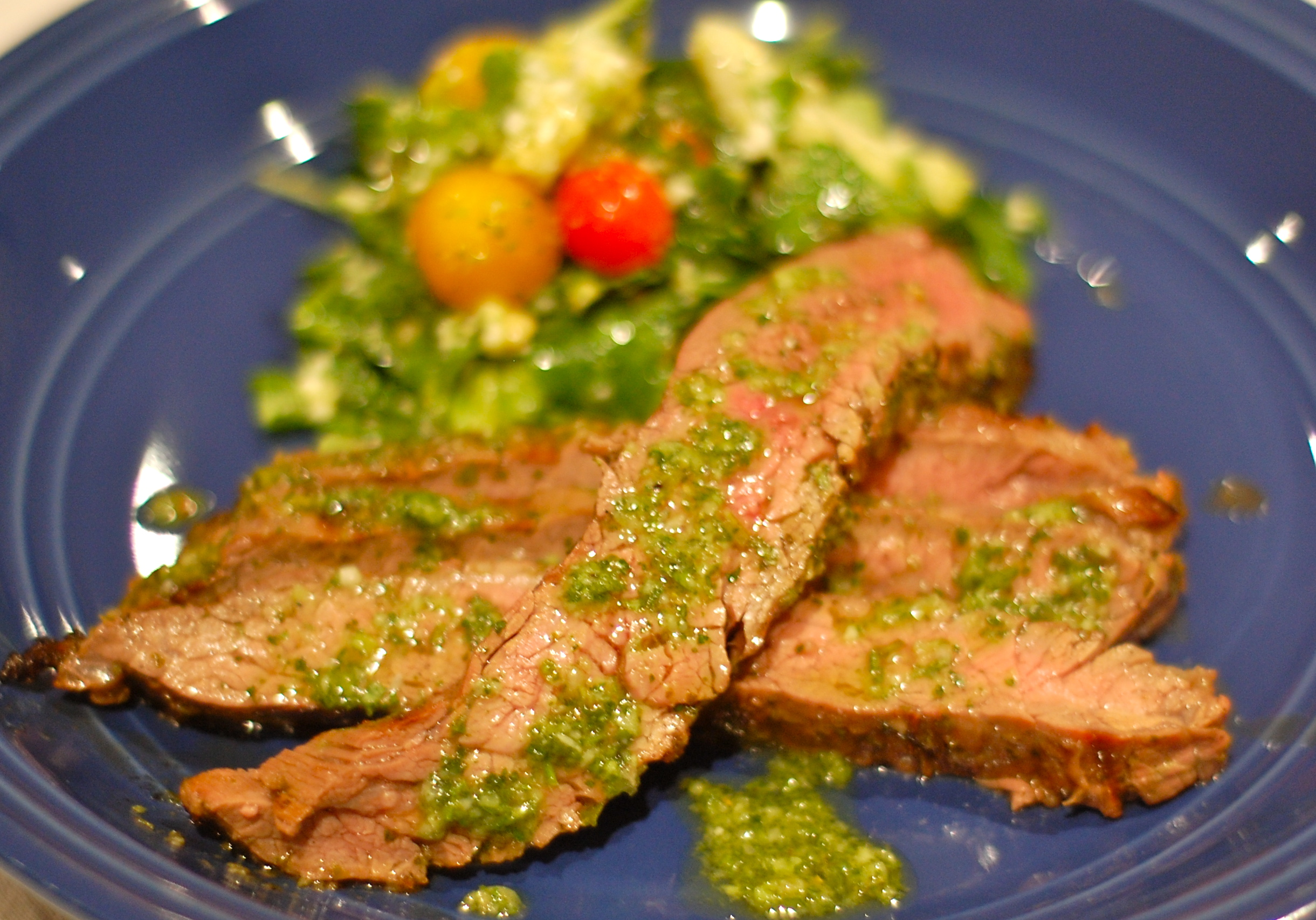 Chimichurri Steak (And Thanksgiving Debrief)
