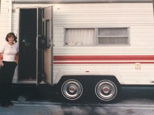 My parent's lived in a trailer in the parking lot just so they could be close to me.